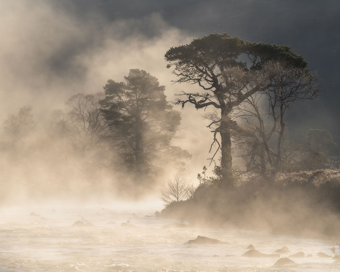 Misty River in Glen Torridon